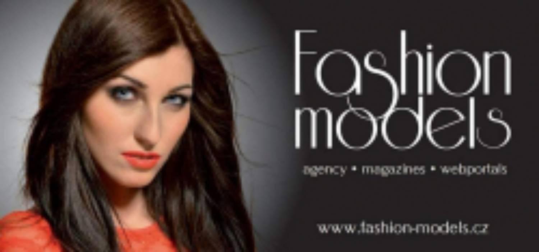 Tvář na billboardy, tištěné materialy a webové stránky modelingové agentury Fashion Models